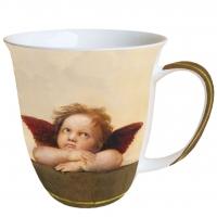 Porzellan-Henkelbecher Mug 0.4 L Angelo