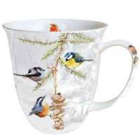 Porzellan-Tasse - Alle zusammen