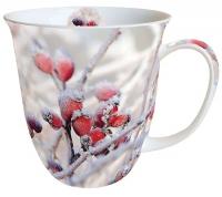 Porzellan-Tasse -  0.4 L Frozen Rosehips