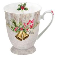 Porzellan-Tasse - Christmas Bells