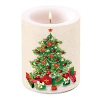 Dekorkerze Christmas Tree