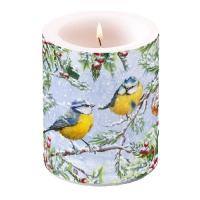 Dekorkerze - Chirping Birds