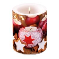 Dekorkerze - Star On Candle