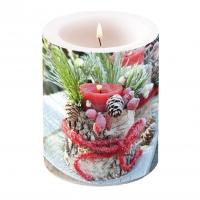Dekorkerze - Frozen Candle