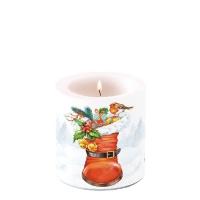 Dekorkerze klein Christmas Boot