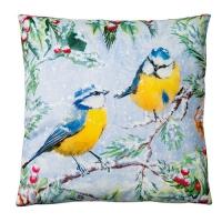 Kissen - Zwitschernde Vögel