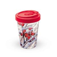 Bamboo mug To-Go - Frozen Rosehips
