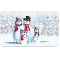 Breakfast Tray - Snowman With Hat