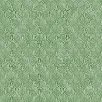 Servietten 33x33 cm - Art Déco, grün