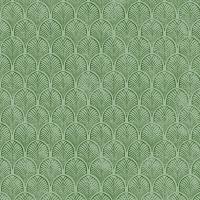 Servietten 25x25 cm - Art Déco, grün