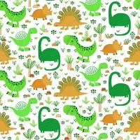 Servietten 33x33 cm - Funny Dinos