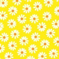 Servietten 33x33 cm - Dancing Daisies gelb
