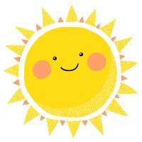 Servietten 33x33 cm - Happy Sun