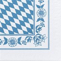 Servietten 33x33 cm - Bayernraute