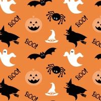 Servietten 33x33 cm - Halloween Ghosts