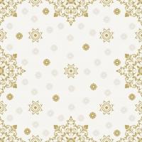 Servietten 24x24 cm - X-Mas Deco Cream