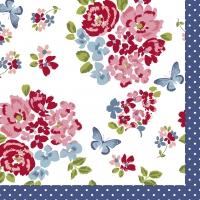 Servietten 33x33 cm - Sweet Roses