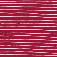 Servietten 24x24 cm - Red Stripe