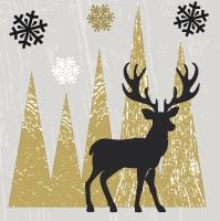 Servietten 24x24 cm - Oh Deer