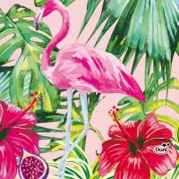 Servietten 24x24 cm - Aloha Floral
