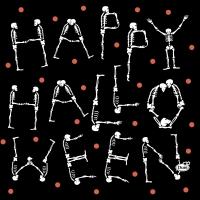 Servietten 33x33 cm - Halloween Scare