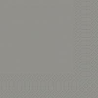 Zelltuch Servietten 33x33 cm - granitgrau