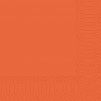Zelltuch Servietten 33x33 cm - mandarin