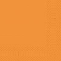 Zelltuch Servietten 33x33 cm - orange