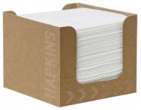Dunisoft Servietten 20x20 cm Box - weiß