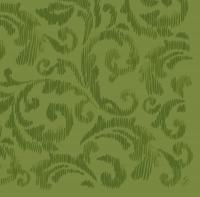 Dunilin Servietten 40x40 cm - Saphira Blatt grün