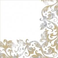 Dunisoft Servietten 40x40 cm - Festiva white