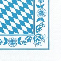 Zelltuch Servietten 33x33 cm - Bayer. Raute