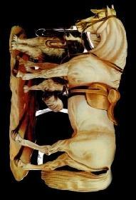 Glanzbilder - 1 Pferd