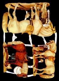 Glanzbilder - 3 Pferde