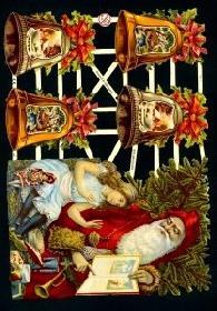 Glanzbilder - Weihnachten mit Glocken