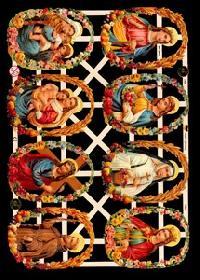 Glanzbilder - große Heilige