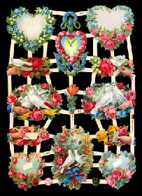 Glanzbilder - Liebe, Glaube, Hoffnung