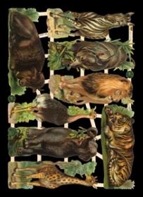 Glanzbilder - Waldtiere