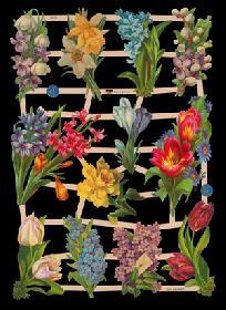 Glanzbilder Frühlingsblumen