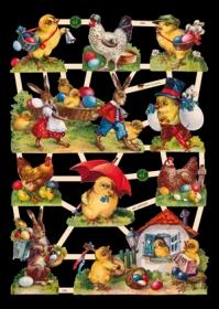 Glanzbilder - Ostern