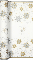 Tablerunners - Stars & Swirls silver