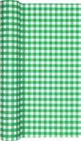 Tablerunners - Karo dark green