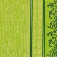 Servietten 25x25 cm - Barock Spitze grün
