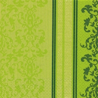 Servietten 25x25 cm - Barock Lace grün