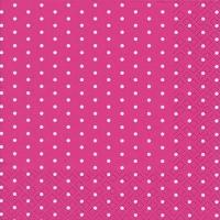 Servietten 25x25 cm - Minil Dots Beere