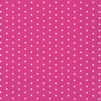 Servietten 25x25 cm - Mini Dots berry