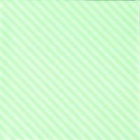 Servietten 25x25 cm - Seitenstreifen grün