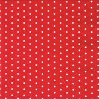 Servietten 25x25 cm - Mini Dots red/white