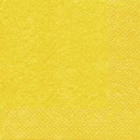 Cocktail Servietten Modern Colours gelb