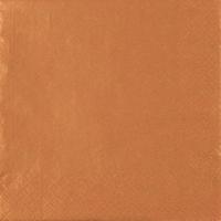Servietten 25x25 cm - Perleffekt Kupfer